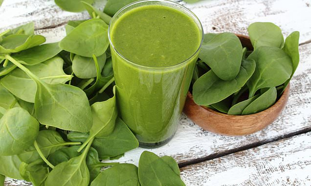 Putting raw spinach in a smoothie is the healthiest way to eat it