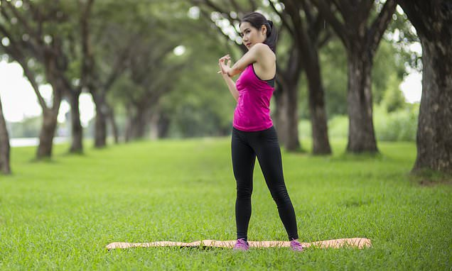 Women should do no more than an hour of exercise a day