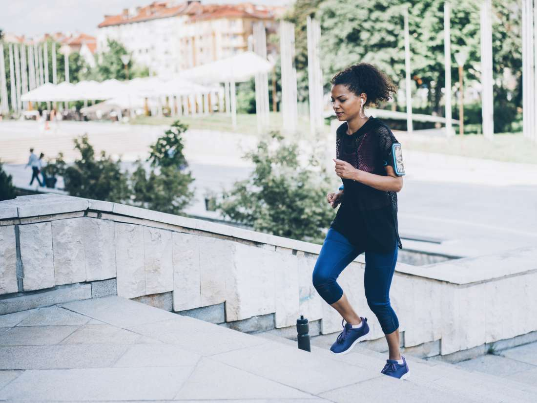Stair-climbing exercise 'snacks' boost health