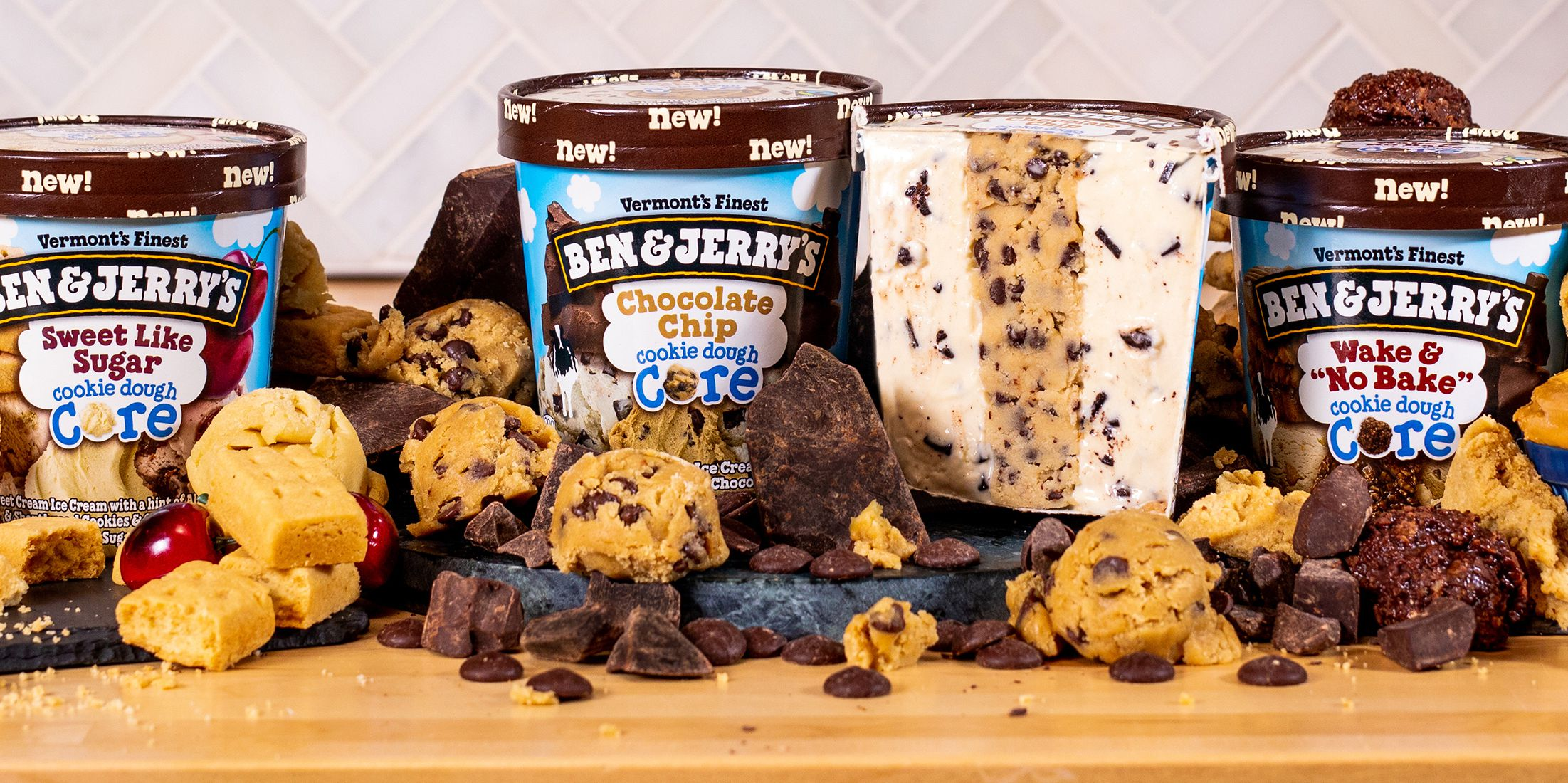 Calling All Cookie Dough Lovers: Ben & Jerry's Three New Flavors Were Made Just for You