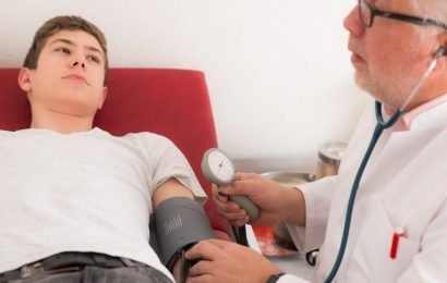 Blood pressure values increased slightly – This may be an indication of brain damage!