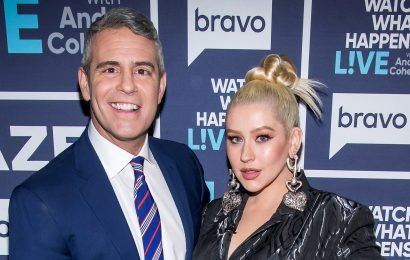 LOL! Christina Aguilera Sends Andy Cohen's Son 'Dirrty' Diapers and Chaps