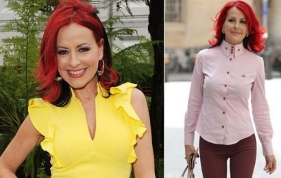 Carrie Grant health latest: Five symptoms of the vocal coach's inflammatory condition