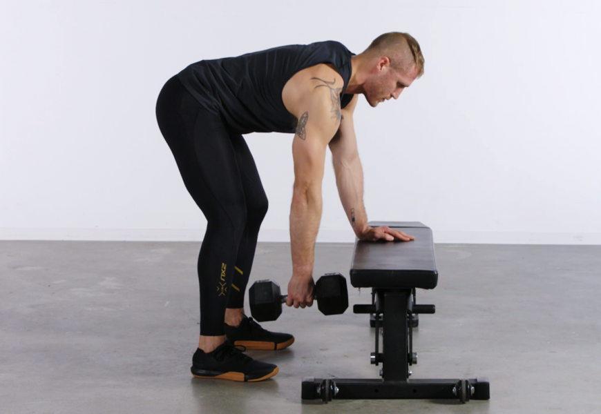 You're Probably Doing Dumbbell Rows Wrong