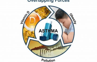 Vitamin D may protect against pollution-associated asthma symptoms in obese children