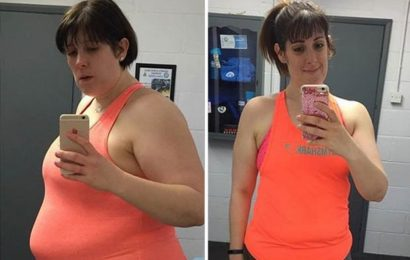 Blogger sheds 8st in 18 months by changing her diet