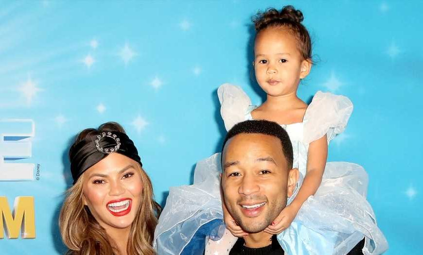Here for It! Chrissy Teigen's Daughter Recreates Her Golden Globes Meme