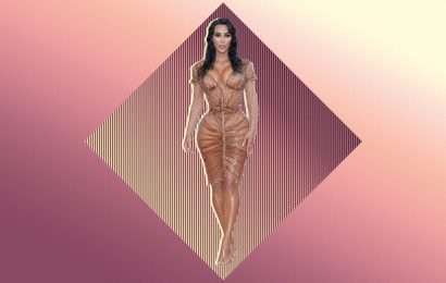 Kim Kardashian's Tiny Waist at the Met Gala Sparked Major Backlash