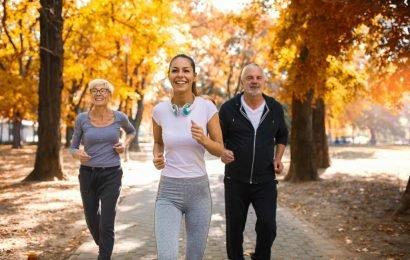 Headaches, high blood pressure, back complaints, Sport often helps better than pills