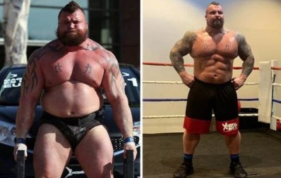 Eddie Hall weight loss: World's Strongest Man reveals secret to shedding 6st