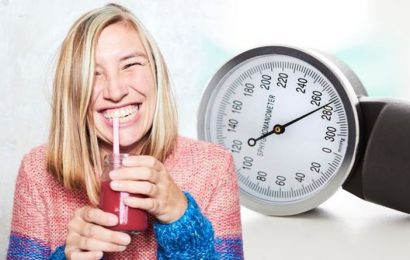 High blood pressure: Three drinks to help lower your reading