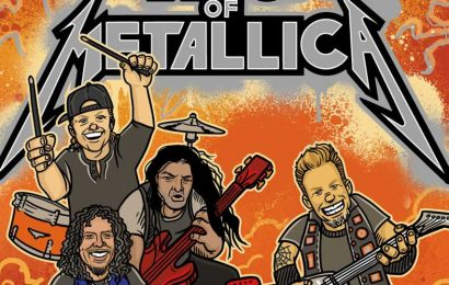 """Send Your Kids """"Off To Never-Neverland"""" With Metallica's New Children's Book"""