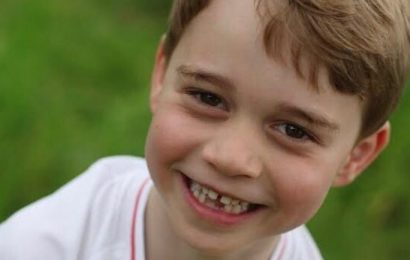Prince George Laughs, Shows Off Missing Teeth in Official 6th Birthday Pics