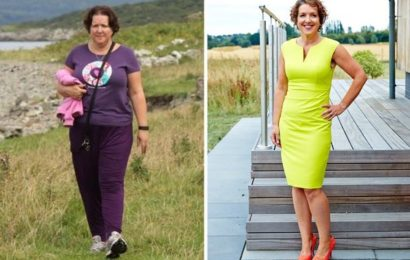 Woman sheds 4.5st after riding instructor swaps her horse for a stronger breed