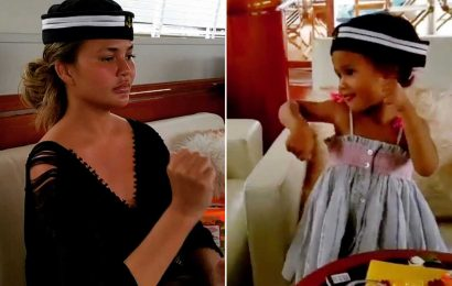 Chrissy Teigen Has a 'Silent Dance Party' with Luna on Family's Thailand Vacation