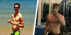 How This Guy Gained 60 Pounds of Muscle (and a Six-Pack!)