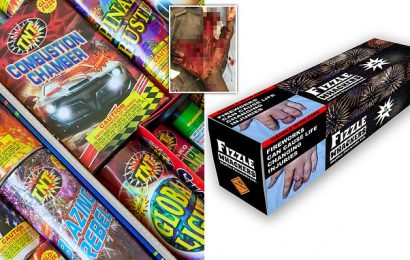 Call for graphic images on firework packaging to warn of injuries