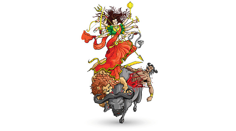 Goddess Durga: A folk tale for kids to understand the feminine energy
