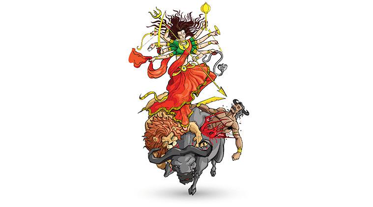 Goddess Durga: A folk tale for kids to understand the feminine energy