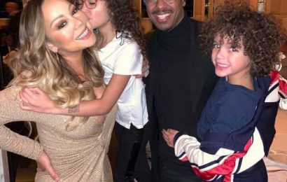 'Thankful' Mariah Carey Celebrates 'Blessings' with Nick Cannon, Boyfriend Bryan Tanaka & Kids