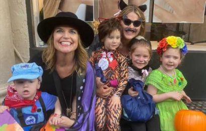 Jenna Bush Hager & Savannah Guthrie Take Their Kids Trick-or-Treating Together for Annual Tradition