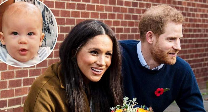 Time Flies! Duchess Meghan, Prince Harry's Son Is Crawling and Has 2 Teeth