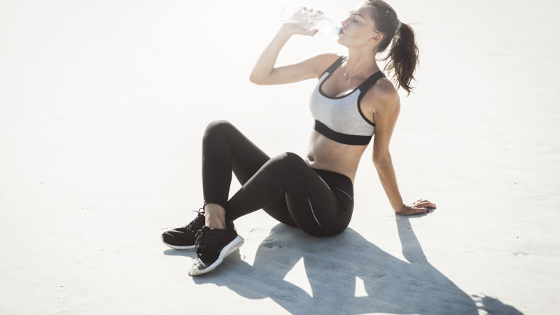 A post-workout wine may taste delightful … but is not a great idea