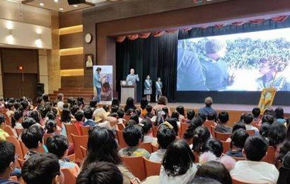 A children's film fest aims to bring change through cinema in schools