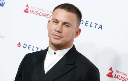See Channing Tatum Adorably Getting Pedicure With Daughter Everly