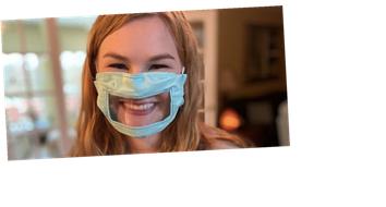 A College Student is Making Lip-Readable Face Masks for the Deaf and the Hard of Hearing