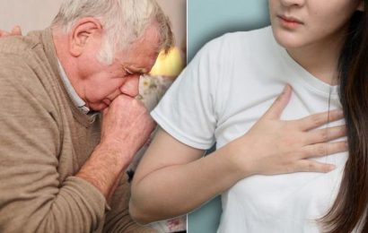 Coronavirus warning: Patient reveals pounding in chest as they recount COVID-19 experience