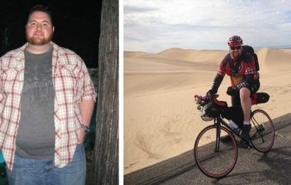 Once 420 Pounds, This Man Now Crushes 150-Mile Weekend Rides
