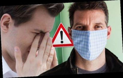 Coronavirus warning – when your eye watering could be a sign of COVID-19 infection