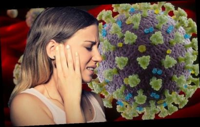 Coronavirus symptoms update: The sign in the ears that may be a rare symptom of COVID-19