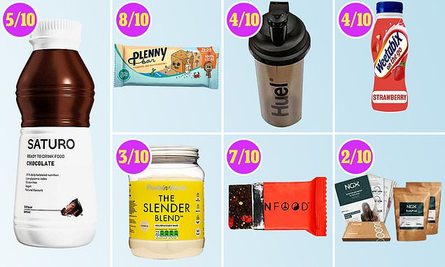 Our expert examines whether snack bars can ever replace a proper meal