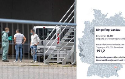 After mass infection among Harvest workers: hundreds quarantined, the limit value is exceeded