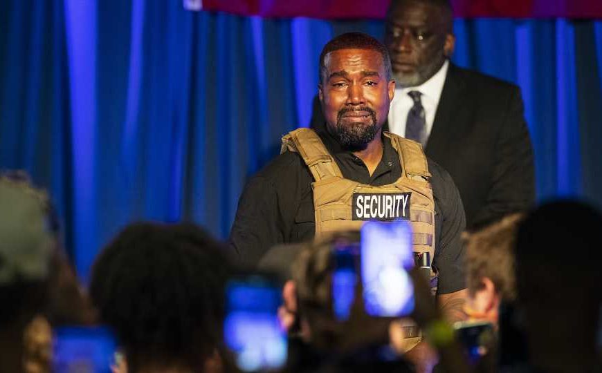 Kanye West's Rally Reveal About Nearly Aborting North West Was So Inappropriate