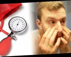 High blood pressure symptoms: Your eyes could indicate you're suffering from hypertension