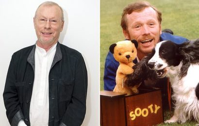 Puppeteer Matthew Corbett has had to move home for care after covid-19