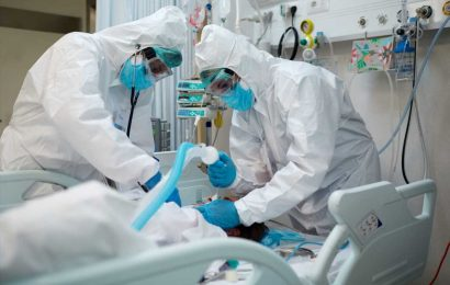 Coronavirus hospitalizations in this state just reached another record high
