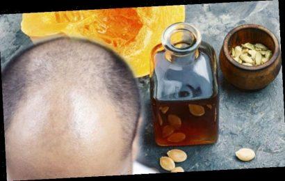Hair loss treatment: Pumpkin seed oil has a positive anabolic effect to increase hair grow