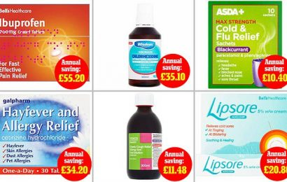 Pharmacist reveals how to save £200-a-year on everyday essentials