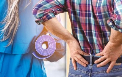 Five exercise to improve your posture and protect against back pain