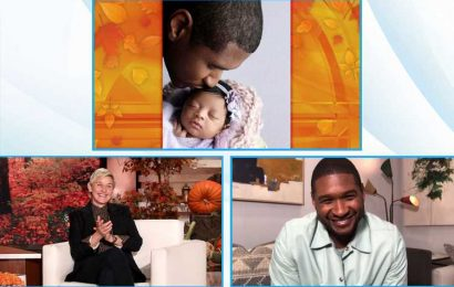 Usher Shares First Photo of Newborn Daughter Sovereign and Opens Up About Her Early Birth