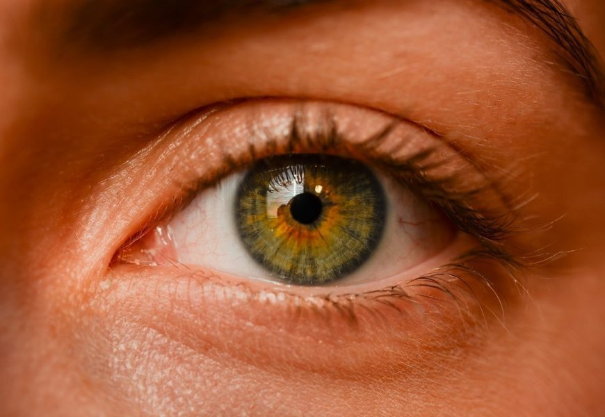 Seeing depression in the pupil