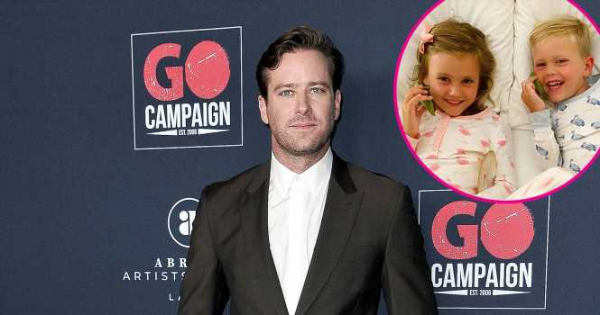 Armie Hammer: I'm Not Posting Pics of My Kids Anymore for Their 'Safety'