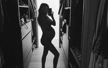Pregnant Morgan Stewart Poses Nude as Her Due Date Approaches: 'Carrying This Babe for 3 More Weeks'