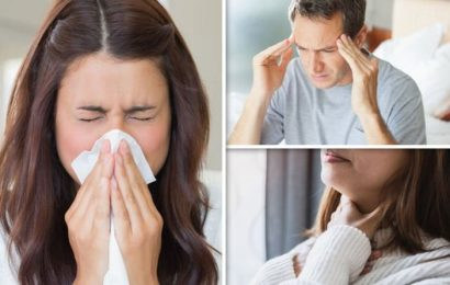 Covid new strain symptoms: 'Runny nose, sore throat and headache should be added to list'
