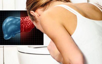 Fatty liver disease symptoms: Vomiting haematemesis requires urgent medical attention