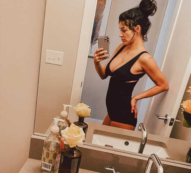 Jessica Szohr Shows Off Body 6 Weeks After Welcoming Daughter: 'Grateful for My Fast Metabolism'